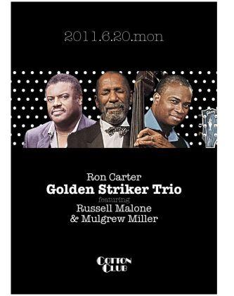 Ron Carter Trio in 2011 Carter w M Miller & R Malone