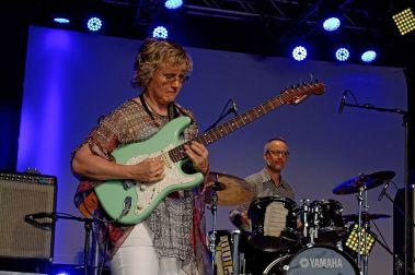 Sheryl Bailey w drummer David Krakauer Festival de Cornouaille 2014