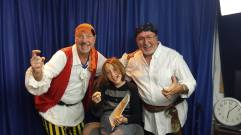 Toni Basanta w Rockin' Ron The Friendly Pirate and Owen in The Cuban Bridge @ MMCTV