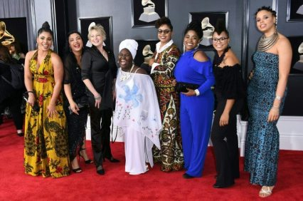 Jane Bunnett and Maqueque Grammys 60th Edition