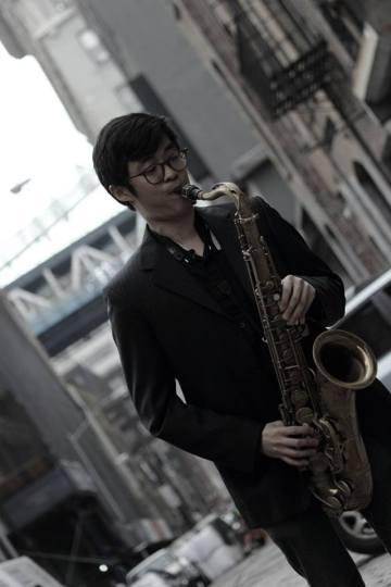 Walker Adams Project saxophonist Yuma Uesaka