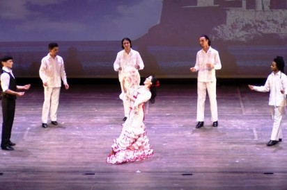 Irene Rodriguez bailaora cubana de flamenco foto Martica Andres en el Kennedy Center in Washington DC mayo 2018