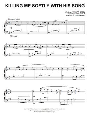 Killing me softly partitura