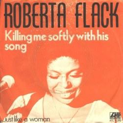 Roberta Flack LP Killing me softly