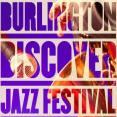 Burlington Discover Jazz Fest 2017 logo