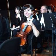 Amy Bateman plays and works for the Astoria Symphony