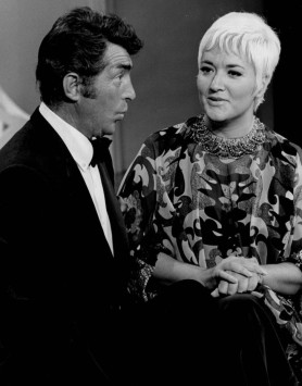 Dean Martin and Morgana King in 1968