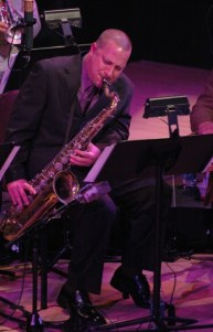 Stephen Riley also plays his sax w Marcus Roberts