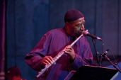 Yusef Lateef w his flute
