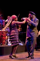 Juan D'Marcos y Gliseria bailando