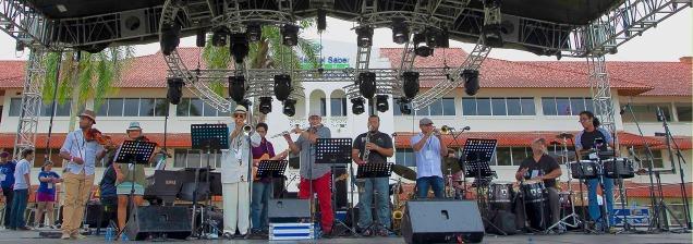 Panama jazz fest desde la Ciudad del Saber live
