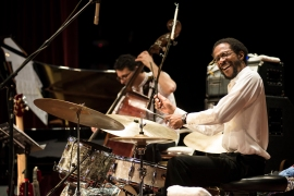 Panama jazz fest w Brian Blade and John Patitucci