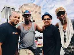 Raul Pineda Childo Thomas Leandro Saint-Hill and Omar Sosa in Denver 2018