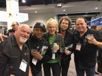 Raul Pineda Fun Time at NAMM w Jeff Collman and Alex Garcia