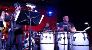 Raul Pineda w Carlitos del Puerto & band at Catalina Jazz Club