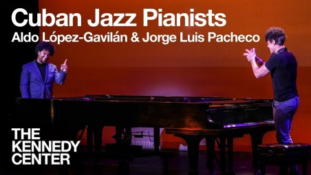aldo lopez-gavilan junco and Jorge luis pacheco live at The Kennedy Center