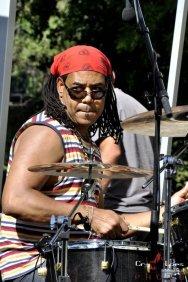 Ernesto Simpson on drums
