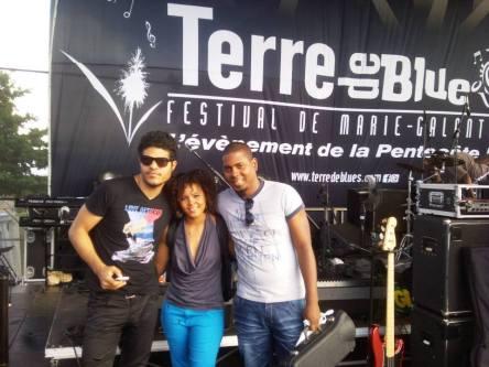 Jorgito Yissy y Julito el tp Fest in France
