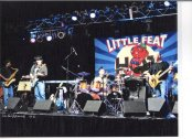 Nobby Reed Project opening for Little Feat @ Higher Ground in 2009