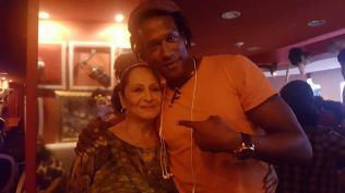 Yadasny con Beatriz Marquez